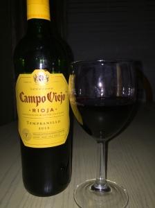 Campo Viejo Tempranillo 20123