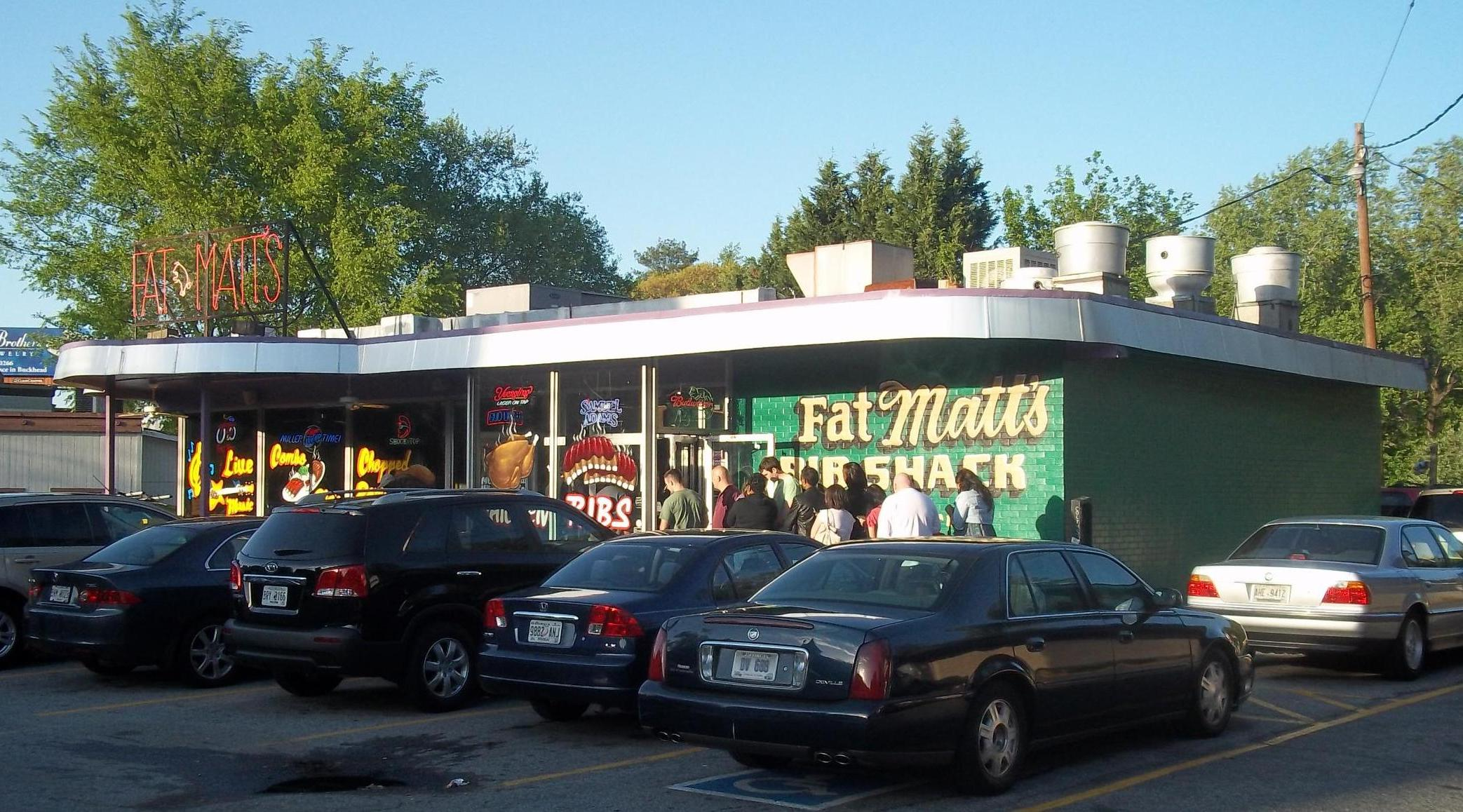 Fat Matts Rib Shack